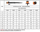 Регулируемая форсунка 0-80 л/ч, на колышке, с установочным комплектом, DSZ-1405, фото 2