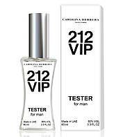Тестер Carolina Herrera 212 VIP Men (edp 60ml) (РЕПЛИКА)