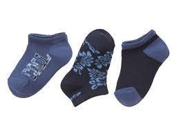 Детские носки короткие синие Lupilu (Германия) разм.23-26