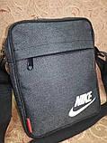 Спортивные барсетка NIKE мессенджер сумка для через только оптом, фото 3