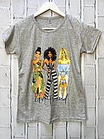 Женская футболка. M и L размеры.
