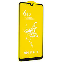 Стекло 6D Xiaomi redmi note 7 - защитное, premium