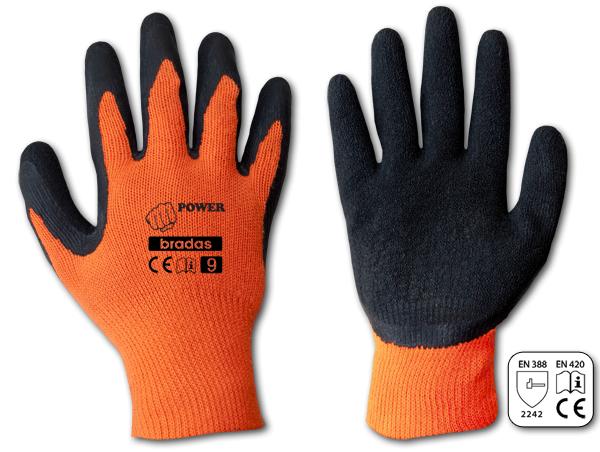 Перчатки защитные POWER латекс, размер 11, RWP11