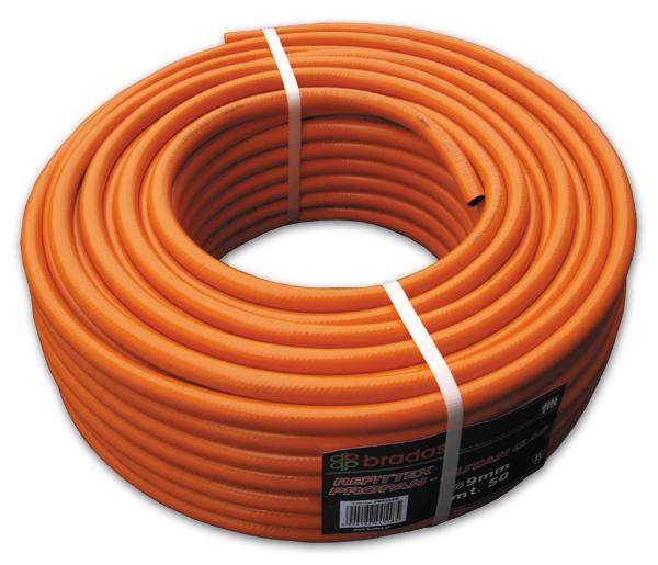 Шланг для газа пропан-бутан 6,3*3,5/100м, PB633550