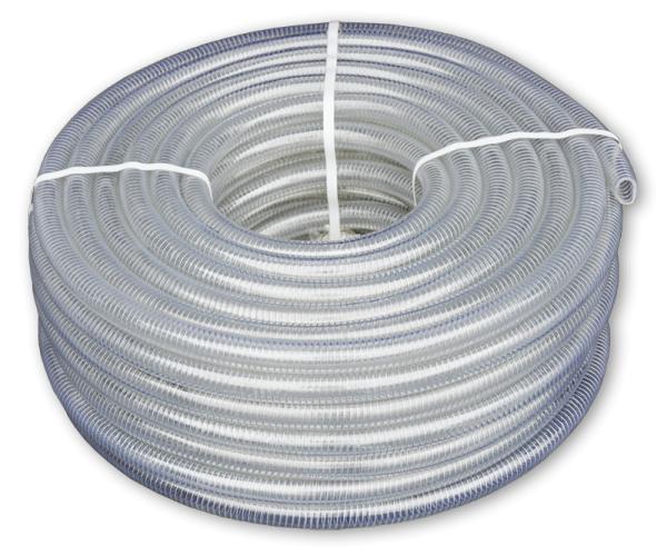 METAL-FLEX шланг вакуумно-напорный с оцинкованной спиралью, 12мм/30м, MF12