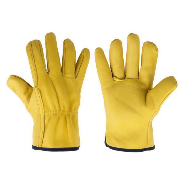 Перчатки защитные CORK TERM с козей шкуры на подкладке, блистер, размер 10,5, RWCT105