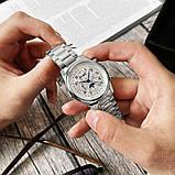 Часы наручные мужские механические, фото 5