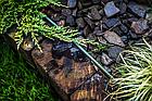 Бордюр газонный прямой с желобком для провода, 18м х 12,5 см, черный, OBKBC18125, фото 2