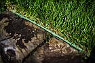 Бордюр газонный прямой с желобком для провода, 18м х 12,5 см, черный, OBKBC18125, фото 3