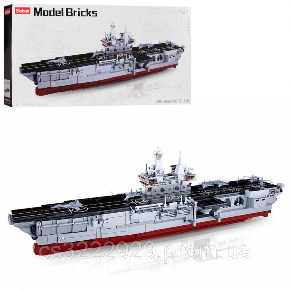 Конструктор Sluban Военный корабль M38-B0699