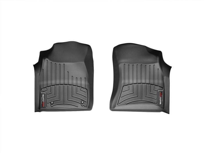 Ковры резиновые WeatherTech Toyota Fortuner 2005-2011 передние черные