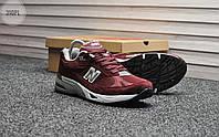 Мужские кроссовки New Balance 991 Bordo