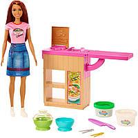 """Игровой набор кукла Barbie """"Приготовление лапши"""" барби mattel"""