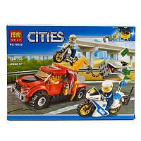 """Конструктор Bela Cities """"Побег на буксировщике"""" 158 деталей"""