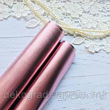 Эко кожа Розовый металлик 50х70 см