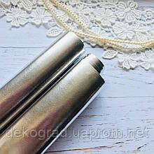 Эко кожа Серебро 35х50 см