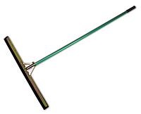 """Скребок для пола """"DUO"""" пенорезина, 75см, с металической ручкой, ES2274B-H"""