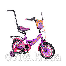 "Велосипед TILLY Monstro 12"" T-212211 purple+pink"