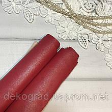 Эко кожа Красный 28х34 см