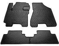 Резиновые коврики для для HYUNDAI TUCSON с 2006-2015 цвет: черный Stingray