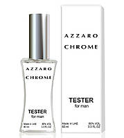 Тестер Azzaro Chrome (edp 60 ml) (РЕПЛИКА)