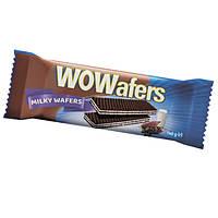 """Вафли Lord """"Wowafers milk"""" молочный вкус фасованные 140г"""