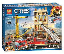 Конструктор 11216 Центральная пожарная станция.