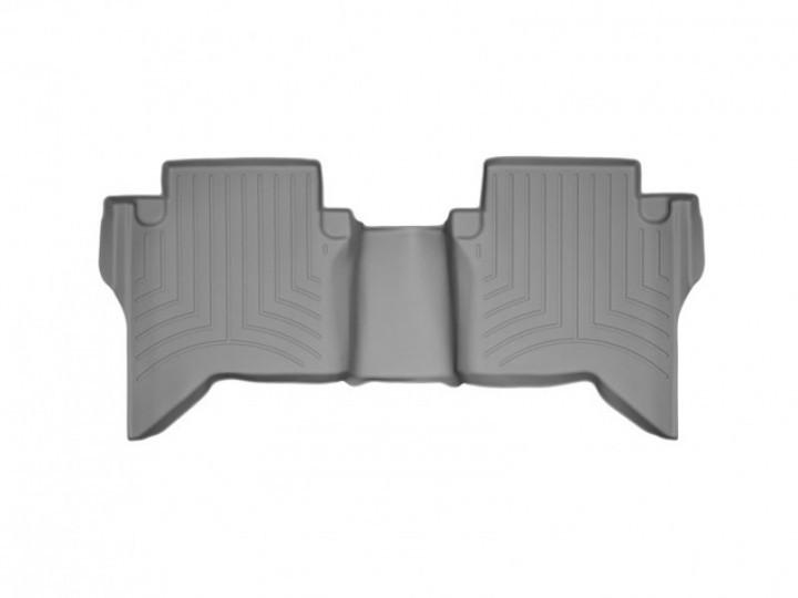 Ковры резиновые WeatherTech Toyota Hilux 2012-2015 задний серый