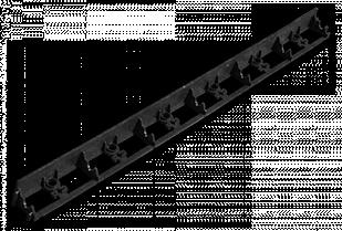 Бордюр садовый RIM-BOARD - 55/1000мм, OBRB55