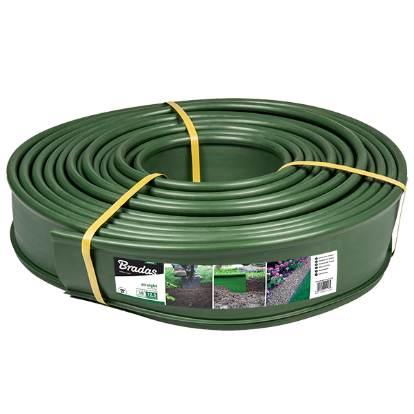 Бордюр 18м*12,5см, зеленый, OBKG18125