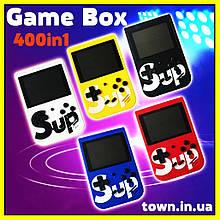 Портативная игровая приставка Game Box,Sup 400 in 1.Игровая ретро (retro) консоль.Dendy 400 игр.