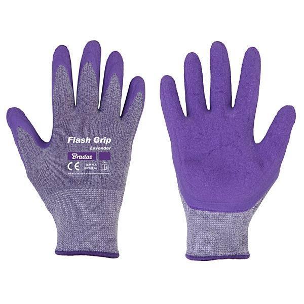 Защитные перчатки FLEX GRIP LAVENDER, размер 7, RWFGLR7