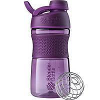Бутылка-шейкер спортивная BlenderBottle SportMixer Twist 590ml Plum SKL24-144928