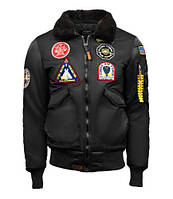 Мужской бомбер Top Gun Eagle CW45 Jacket TGJ1938 (Black), фото 1