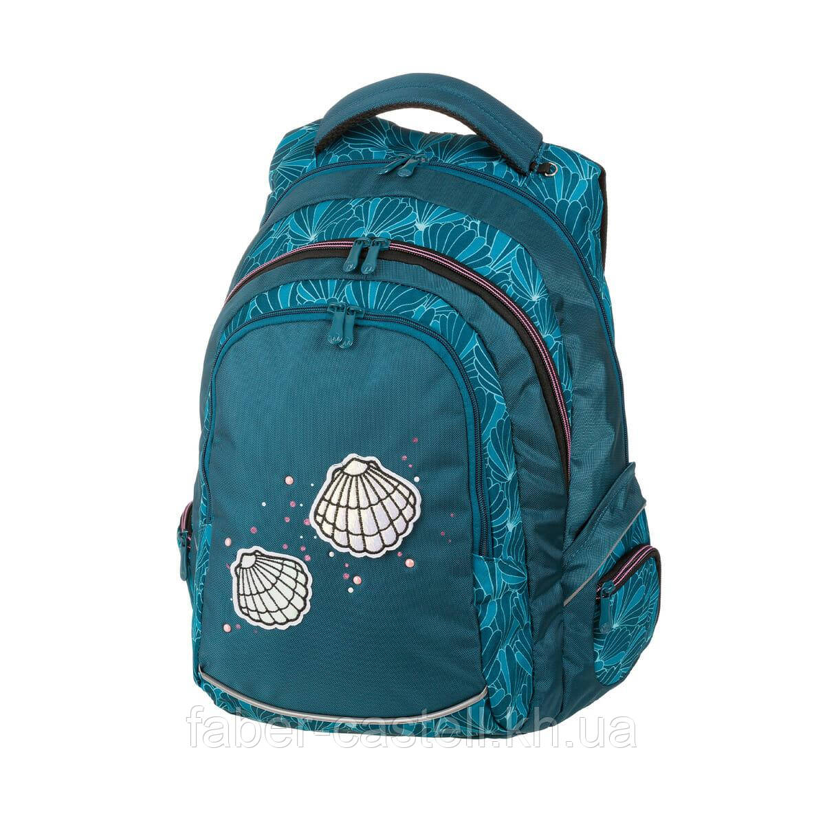 Рюкзак Schneiders Walker School Backpack Pearl, для девочки цвет бирюзовый, 42037-064
