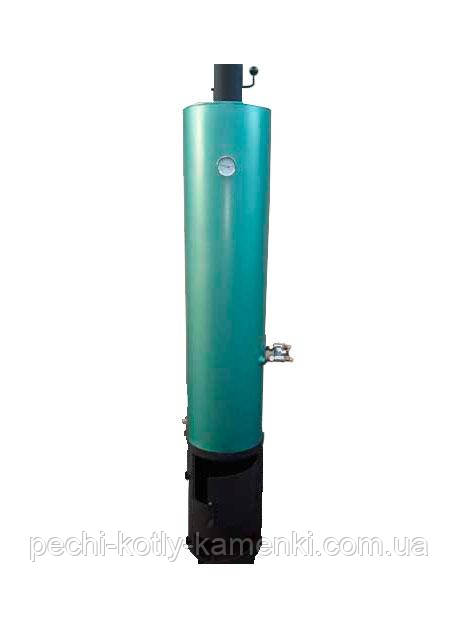 Водонагреватель-титан на дровах 100 л (бак внутри оцинкованный)