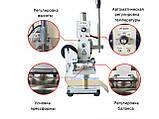 Ручной пресс для горячего тиснения WT-90AS рабочая поверхность 5x7 см, фото 3