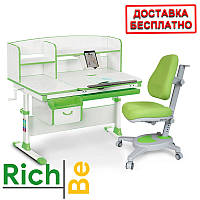 Растущая парта стол для детей Evo-kids Evo-50 New