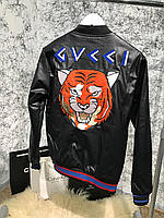 Jacket Gucci Angry Cat Black