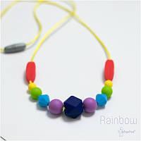 Силиконовые слингобусы BABY MILK TEETH Rainbow