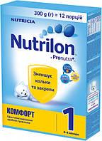 Сухая детская молочная смесь Nutrilon Комфорт 1, 300 г