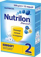 Сухая детская молочная смесь Nutrilon Комфорт 2, 300 г.