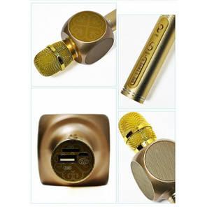 Bluetooth микрофон Karaoke YS-63 Золото, фото 2