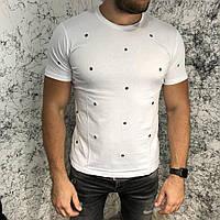 Valentino T-Shirt Hole Dot White