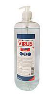 Антисептик з дозатором для рук Antibacterial Virus Protection, антисептичний засіб 1 л