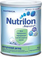 Cухая детская молочная смесь Nutrilon преждевременный уход, 400 г.
