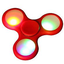 Светящийся спиннер с подсветкой Led Красный