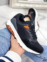 Красивые черные кроссовки