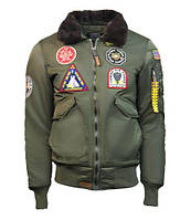 Бомбер Top Gun Eagle CW45 Jacket TGJ1938 (Olive), фото 1