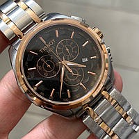 Tissot T-Classic Couturier Chronograph Steel Alt Silver-Gold-Gold-Black